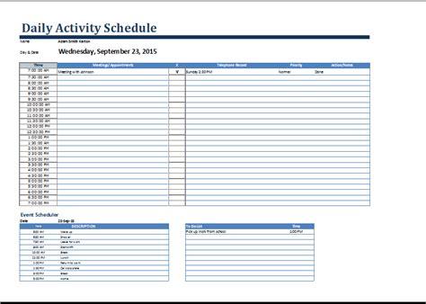 student weekly schedule template gerardradio co