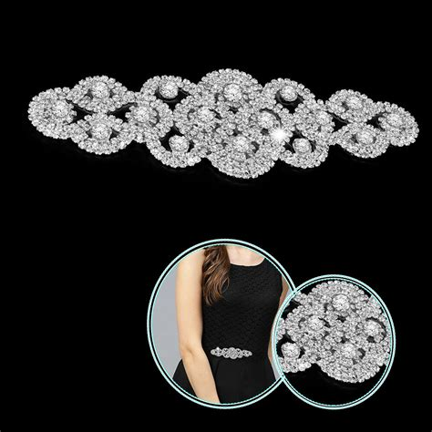 diamante applique diamante rhinestone applique motif patch sew on bridal