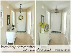 behr greige colors entryway before and after beige to greige with behr paint