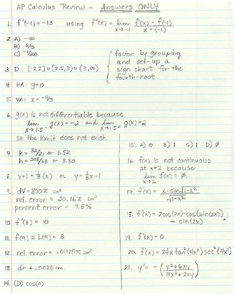 2 review answers pre calculus pdf book