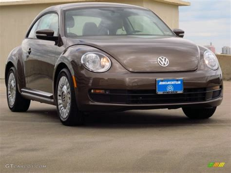 2014 Toffee Brown Metallic Volkswagen Beetle 2 5l