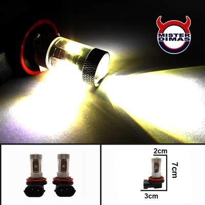 H11 11 Watt Plasma Putih baru serba blinking bohlam led senja rem mundur
