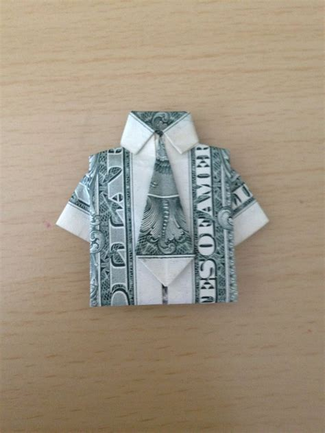 Money Origami Shirt With Tie - 25 best ideas about origami shirt on diy