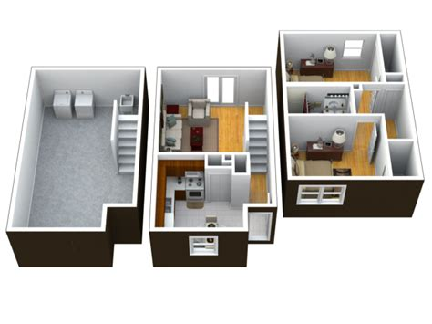 Library Floor Plan Design 1 3 Bed Apartments Muskegon Townhouses