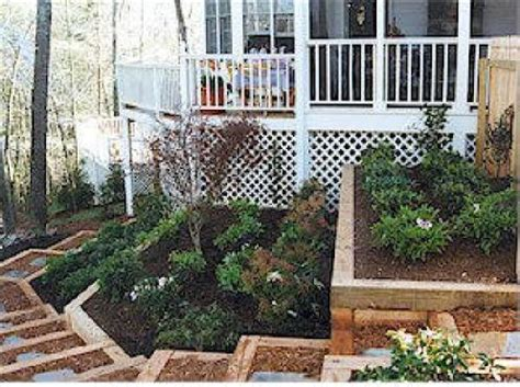 Landscape Timbers For Erosion Nc Retaining Walls We Do It All Low Cost