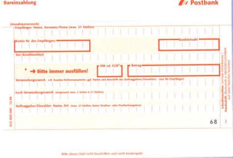 Word Vorlage Sepa Zahlschein Zahlungsverkehr Teil 4 Halbbare Zahlung