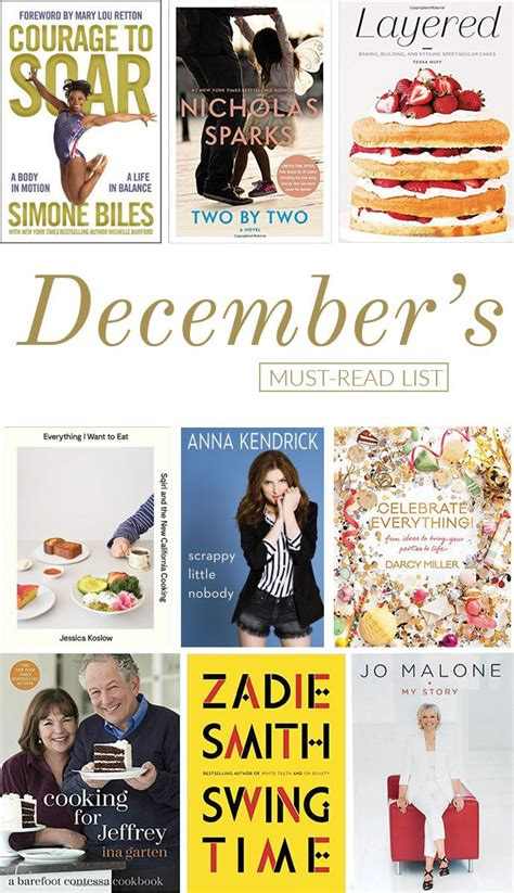 the must guide a listed must read list for december glitter guide