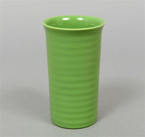Bauer Vase by 7 Inch Ringware Vase Parrot Green Hickoree S