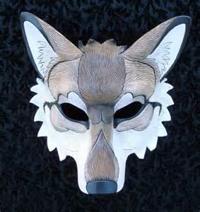 Wolf Mask Custom Red Wolf Mask By Merimask On Deviantart