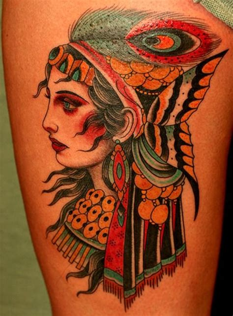 american traditional gypsy tattoo best 10 tattoos ideas on