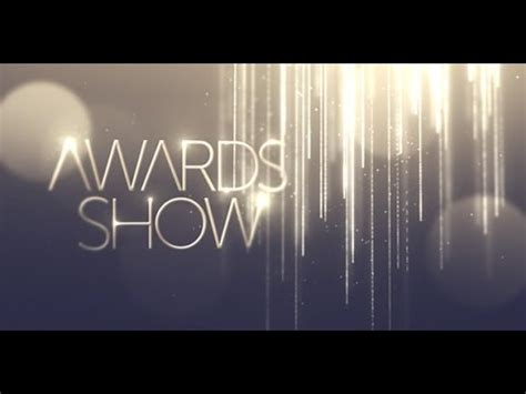 awards presentation template after effects template awards show