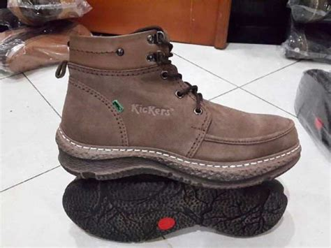 Sepatu Kickers Genuine Leather jual sepatu kickers original boot leather lelono sport
