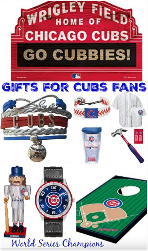 gifts for cubs fans chicago cubs fan gift ideas series chions