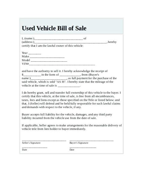 Vicroads Receipt Of Sale Template by Receipt For Sale Of Used Car Kinoroom Club
