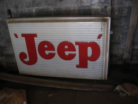 Large Jeep Dealerships Large Jeep Dealership Sign Pic The Cj2a Page