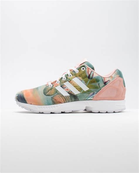 adidas zx flux floral pattern adidas zx flux pink floral softwaretutor co uk