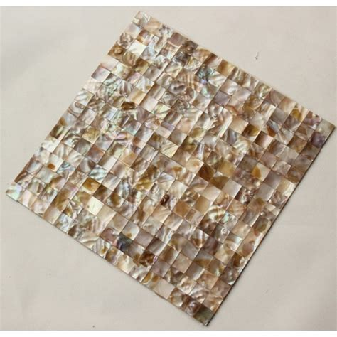 seashell tile backsplash shell mosaic tiles cheaper of pearl tile backsplash