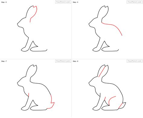 how to draw a step by step easy how to draw a rabbit step by step easy www imgkid the image kid has it