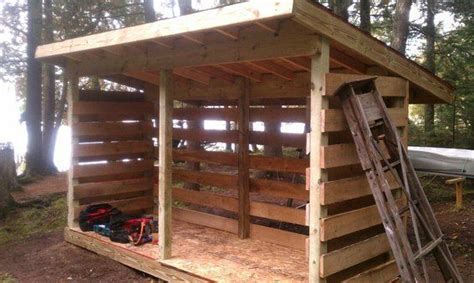 cheap pallet firewood storage shed httpdunwaycom