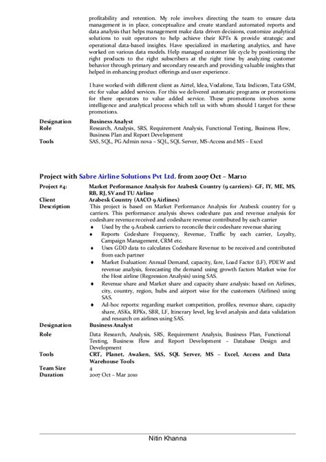 resume reporting analyst resume ideas