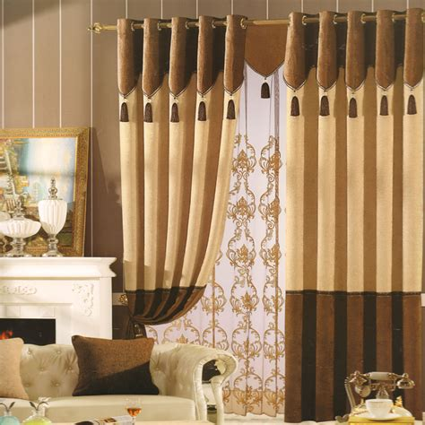 coffee curtains bedroom coffee chenille modern drapes and curtains no
