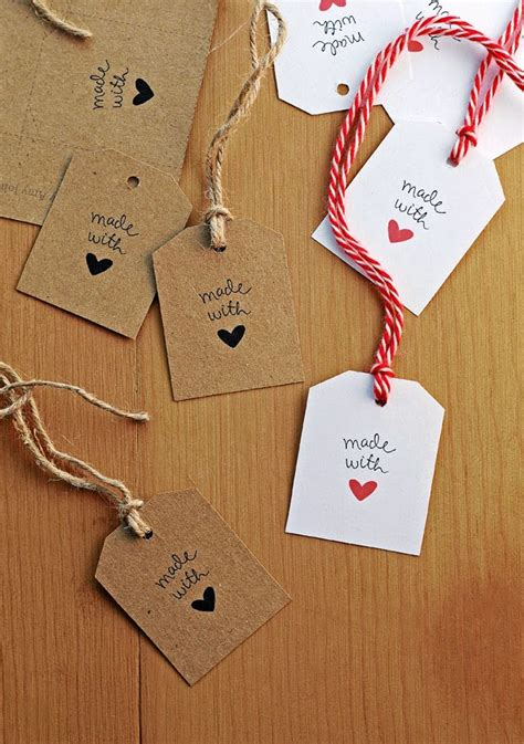 Handmade Gift Tags - best of free printable tags labels for handmade gifts