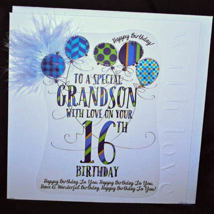 Grandson Birthday Card Birthday Greetings On Pinterest Happy Birthday Birthday