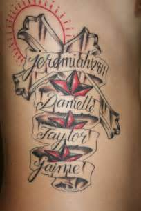 cross tattoo designs with names tattoos with wife and