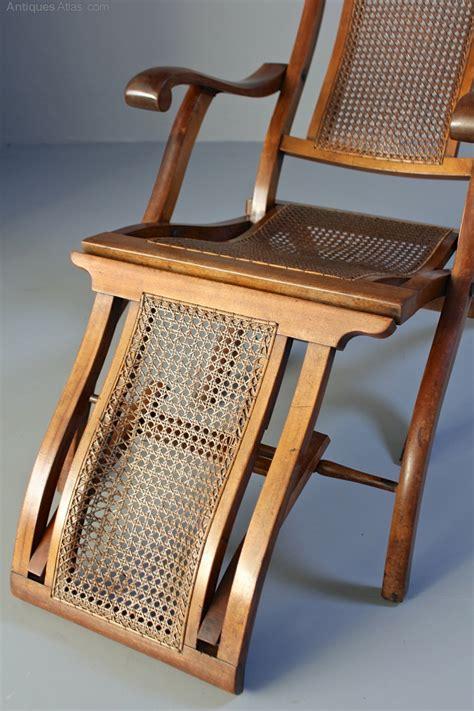 antique folding steamer deck chair  antiques atlas
