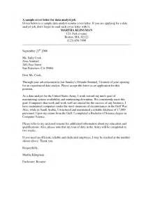 covering letter for vacancy cover letter for position sle cover letters