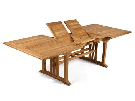 extending table double extending teak table grade a teak furniture
