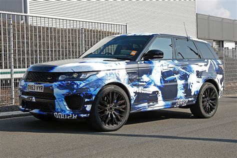 land rover camo spyshots 2015 range rover sport rs in fancy camo