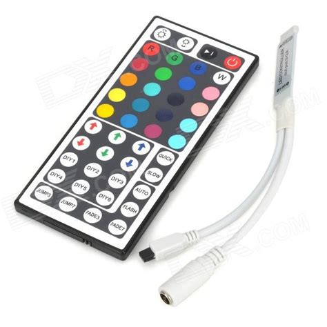 mini 144w 3 x aa 4 pin rgb led light controller w