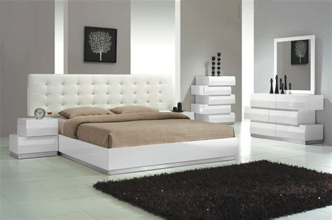 white contemporary bedroom set white master bedroom furniture modern styles white