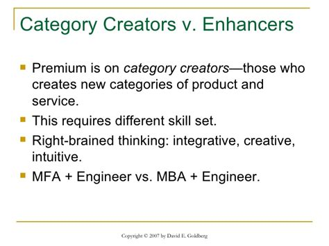 Mfa Mba Difference by The Innovation Imperative Injecting Creativity Into The
