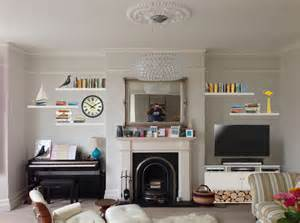 Bathroom Alcove Ideas building an alcove tv unit and several floating shelves