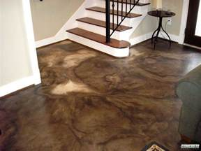 Painting Stained Wood Trim Overland Park Concrete Polishing Amp Concrete Staining