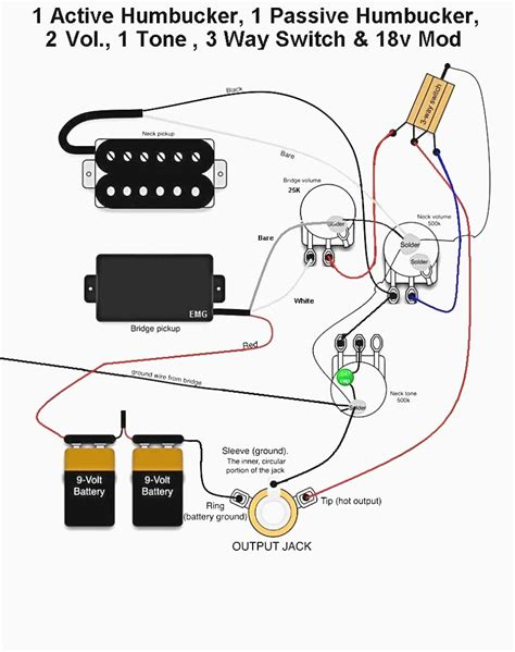 emg wiring diagram emg solderless 3 way switch