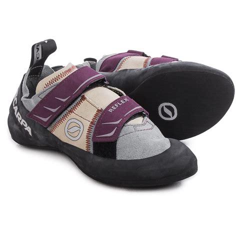 scarpa reflex climbing shoes scarpa reflex climbing shoes for 155pu save 54