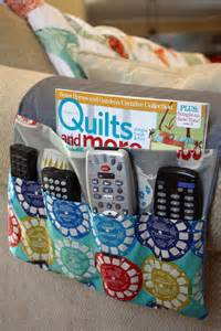 Armchair Remote Control Caddy My Fabric Obsession Make Mine Modern Sent