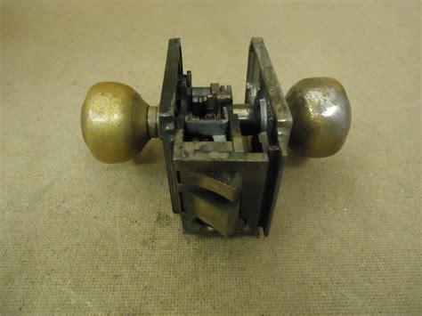 sargent door knob assembly brass mortise lock 9805 1 2 vintage