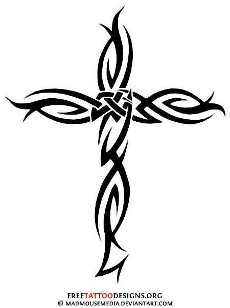 Cross Tattoo Images & Designs