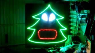 singing tree lights het aalsters kerstlichtje test singing tree