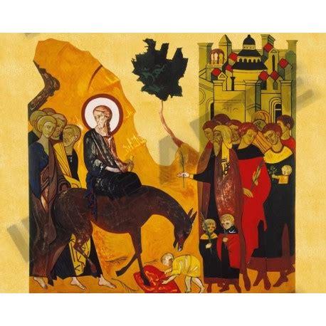ingresso a gerusalemme ingresso a gerusalemme icona sacra oro kiko cammino