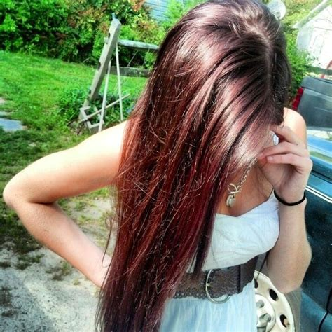 brown cherry hair color cherry coke with blonde highlights pictures image dark