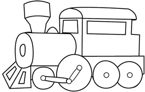 train coloring koloringpages
