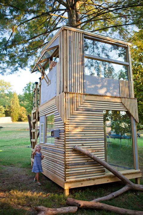 tree house window ideas bright playhouse plans fashion nashville modern kids decorating ideas with awning
