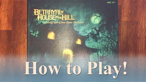 betrayal at house on the hill rules betrayal at house on the hill expansion rules house plan 2017
