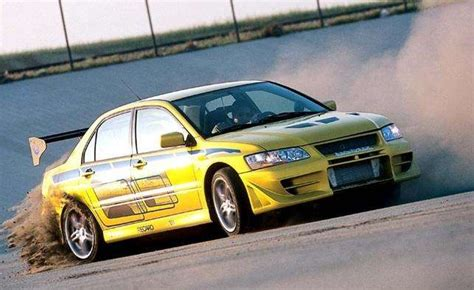 fast and furious evo fast and the furious cars list of all fast and furious