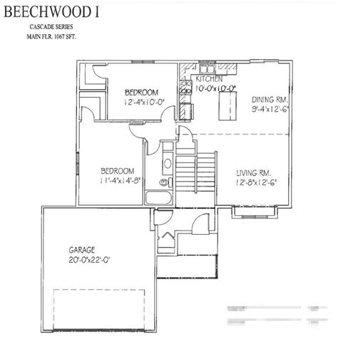 beechwood homes floor plans beechwood i floor plan progressive builders